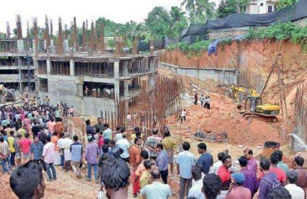 A number of builders have been issued show-cause notices while detailed inspection has been called for at several other sites. The raids, conducted at 82 sites, found migrant labourers comprised  majority of the workforce.