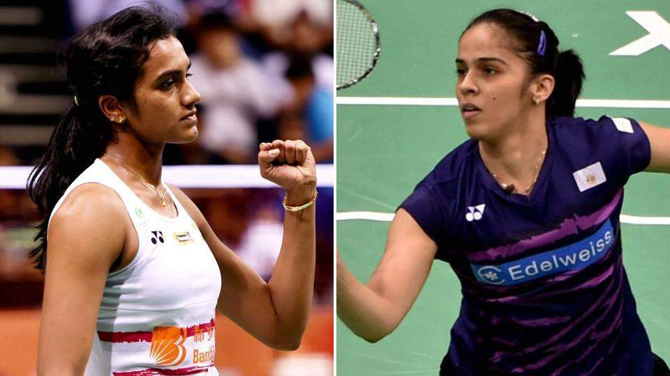 PV Sindhu and Saina Nehwal | File Photo | PTI