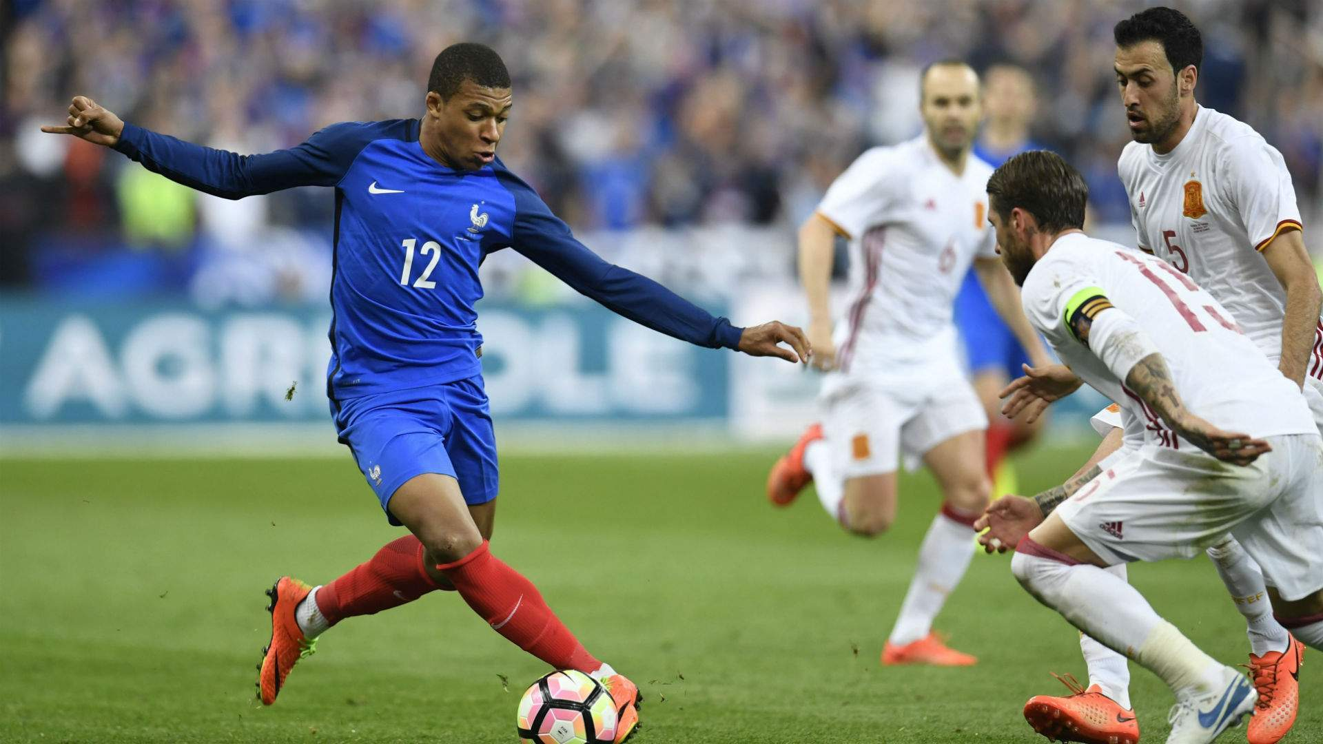 Monaco teenager Mbappe missed last Friday's 5-0 friendly victory over Paraguay but looks set to be fit to face the Swedes. | AP