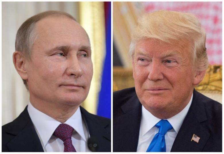 Russian President Vladimir Putin and US counterpart Donald Trump|IANS