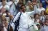 Rafael Nadal leaves the court after winning the Men's Singles Match against Donald Young. (AP)