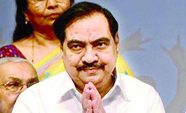 The report observed that Khadse did not hide information about the purchase of land in the name of Mandakini - his wife - from the enquiry officers.