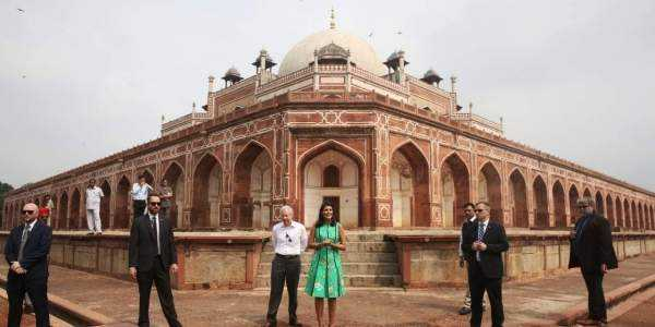 Humayun's Tomb in New Delhi on Wednesday
