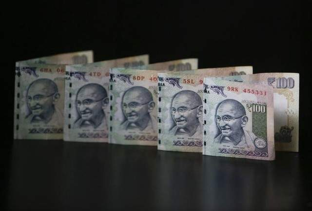 Rupee notes are seen in this picture illustration. | Reuters