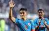 Sunil Chhetri celebrates after the team's victory against Kenya | PTI