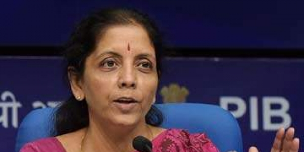 Union Finance Minister Nirmala Sitharaman.