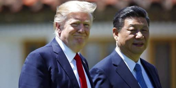 US President Donald Trump and Chinese President Xi Jinping. (File Photo | AP)