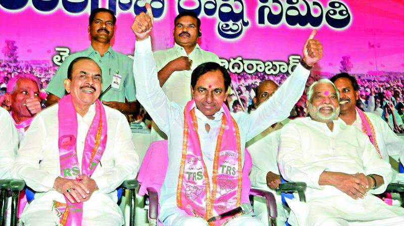 TRS also backed Kovind for President even though the party is not a constituent of the NDA. (File photo)